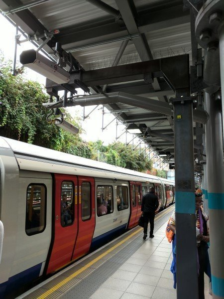 Platform to Train CCTV system OPO; District Line